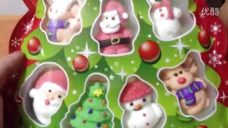 【中国食玩】吃货小宝提前分享★圣诞节礼物★圣诞老人棉花糖和白雪公主★米奇★朱古力仔★巧克力