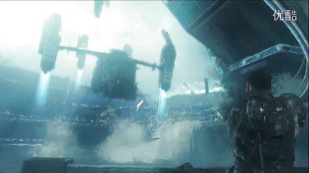 《使命召唤12黑色行动3》老兵难度流程解说05之机器人大暴走