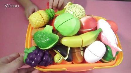 亲子游戏 水果切切看 水果蔬菜切切看