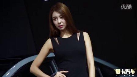 2015广州车展 索纳塔韩系可爱气质美女