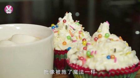 【小溪小厨】南瓜纸杯蛋糕