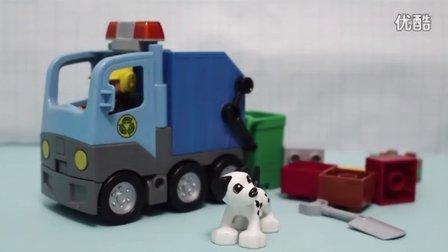 LEGO乐高积木系列之城市垃圾清理车玩具套装