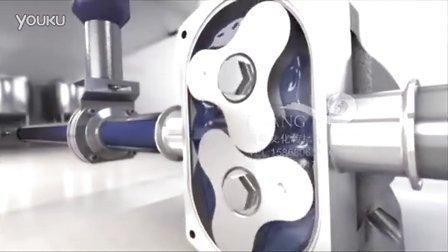 巨浪视觉-凸轮式转子泵动画-水泵组合动画-阀门水泵3D动画