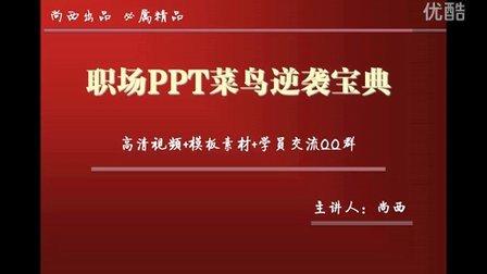 最新ppt制作教程视频 ppt模板-尚西主讲职场PPT三大主义(附赠PPT模板素材下载)