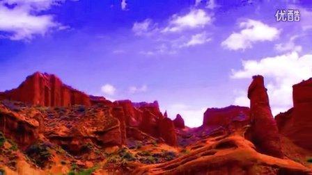 阿克苏温宿 天山托木尔大峡谷 原名温宿大峡谷