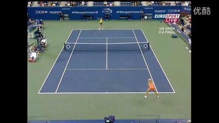 2005美国网球公开赛女单QF 德门蒂耶娃VS达文波特 (自制HL)
