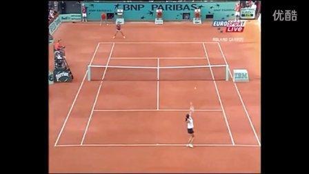 2005法国网球公开赛女单R3 伊万诺维奇VS毛瑞斯莫 (自制HL)