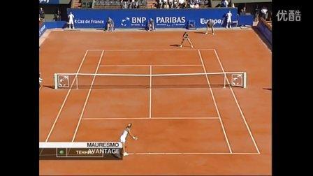 2005 Fed Cup 俄罗斯VS法国 德门蒂耶娃VS毛瑞斯莫 (自制HL)