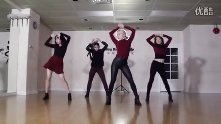 韩舞:函数女团fx - 4 Walls 舞蹈练习 完整版(天舞)