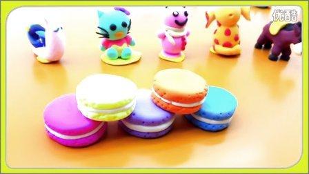 马卡龙 饼干 烘焙教程 法式蛋糕 甜甜圈 亲子游戏 粘土教程 26