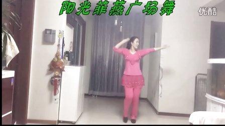 阳光菲燕广场舞【我在红尘中遇见你】编舞:楠楠。   演示:菲燕