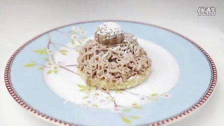法式蒙布朗蛋糕(栗子蛋糕)做法