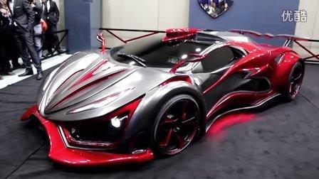 墨西哥Inferno Exotic Car 超跑性能达1400匹马力!媲美许多Lamborghini 和 Ferrari 等超级跑车!