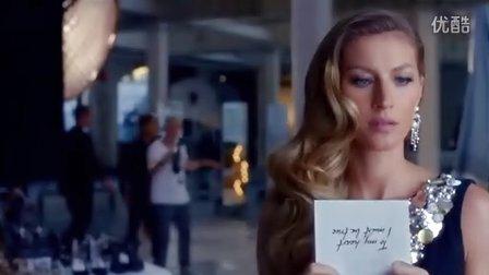 巴西超模吉赛尔·邦辰出演香奈儿(ChaNel)5号香水广告大片