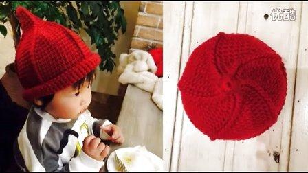 旋转奶嘴帽 宝宝帽子编织