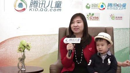 第三届颁奖典礼现场采访——儿童文学家  葛竞