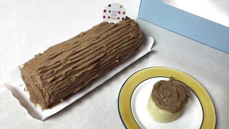 香满月手作 2015 圣诞栗子木柴蛋糕 73
