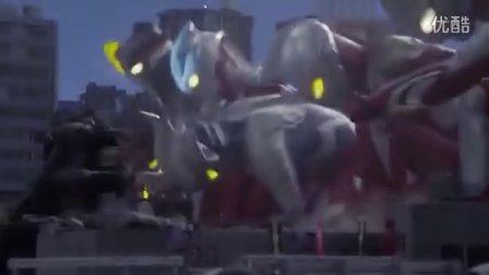 [星光璀璨之时 制作]艾克斯奥特曼与奥特战士们的感人MV《羁绊》
