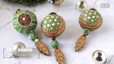 【微博@肥肉ai烘焙】3D圣诞饼干 圣诞装饰  甜品台