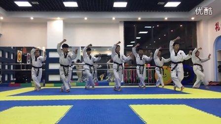 【Grass】郑州小草跆拳道-作品展示-(跆拳舞)4、草-草之齐