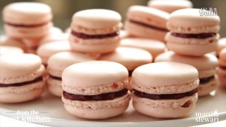 法式马卡龙French Rose-Raspberry Macarons - From The Test Kitchen