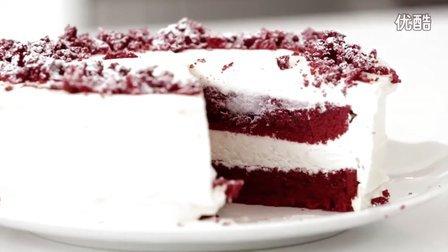 红丝绒芝士蛋糕 Red Velvet Cheesecake