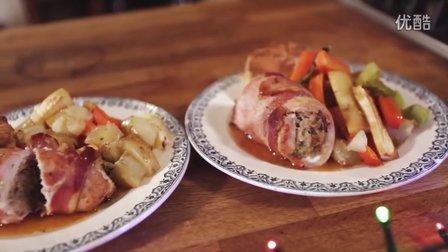 圣诞节晚餐❄1 Tray Christmas Dinner! _ Katie Pix ❄