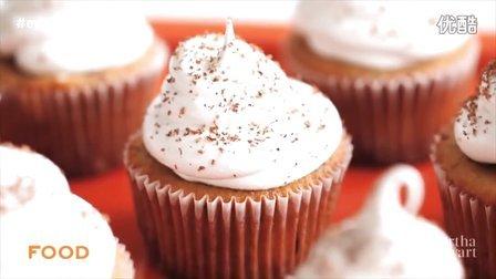 卡布奇诺巧克力纸杯蛋糕 Cappuccino-Chocolate Cupcakes