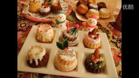 """【喵博搬运】【食用系列】迷你圣诞风古格霍夫蛋糕O__O """"…"""
