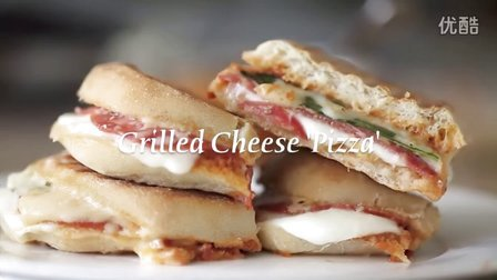 芝士披萨Grilled Cheese Pizza _ Byron Talbott