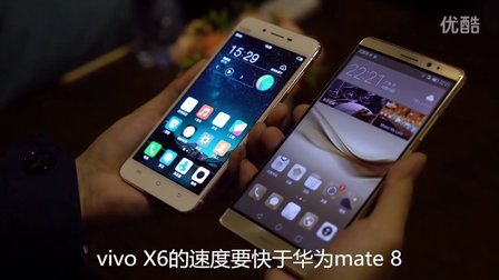 vivo X6指纹识别对比华为mate8 iPhone 6s Plus