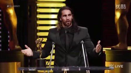 【Raw 12/21】赛斯荣膺15年最佳摔男 放言复出放倒伦斯拿回冠军