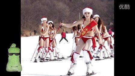 冬瓜说5 圣诞节特别版 超爆笑搞笑视频短片段子 圣诞祝福圣诞视频集锦 圣诞歌曲音乐圣诞节快乐