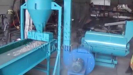 电子垃圾报废电子元件用撕碎磨粉生产线-刀式磨粉机提取贵重金属