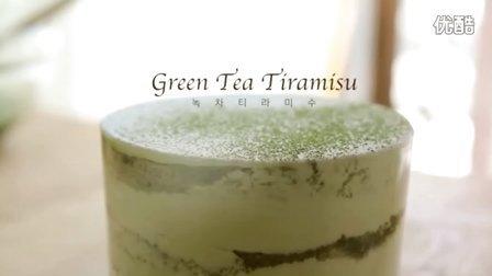 抹茶提拉米苏,抹茶口味 cupcake 美食 甜品 下午茶