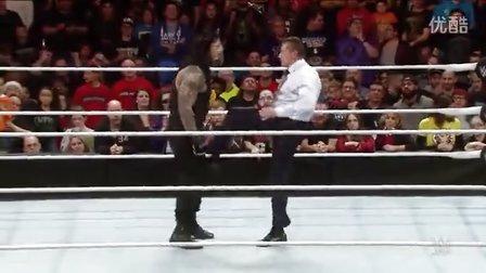 圣诞彩礼!大老板领衔WWE暴力蛋碎时刻