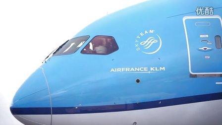 """荷兰皇家航空波音787-9梦幻客机""""欢迎飞行""""体验"""
