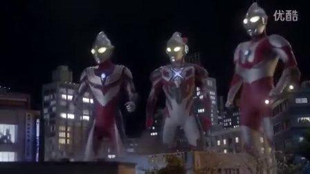 [星光璀璨之时 制作]艾克斯奥特曼MV:主题曲《ウルトラマンX》