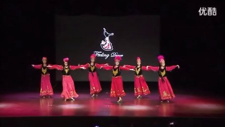 掀起你的盖头来 FeelingDance飞儿舞蹈三周年庆演出 民族舞新疆舞维族舞 20150711