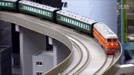 N比例 CRH2C、CRH3、4B东风 中国铁路模型运转