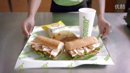 美国著名快餐连锁店赛百味(Subway)新LOGO