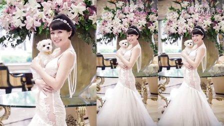 難得性感!網友大讚超美婚紗照一次曝光
