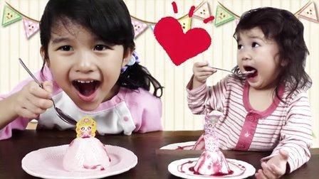 2016首次食玩!闪亮公主布丁登场【中国爸爸】日本食玩