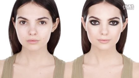 彩妆大师Lisa Eldridge展示超模Kendall Jenner时尚封面烟熏妆 Kendall Jenner Smokey Eye -Editorial