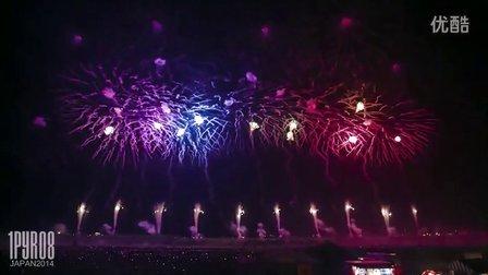 -焰火表演-日本焰火大会 -赤川烟花节