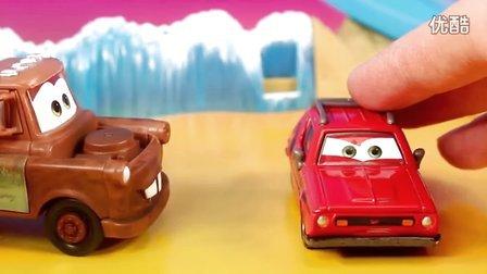 风火轮赛车 鲨鱼监狱轨道 Hot Wheels 赛车总动员 玩具拆箱