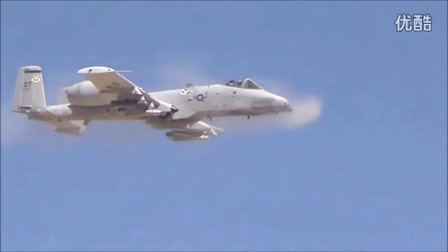美国 A-10 攻击机 GAU-8/A30mm 七管加特林火神炮测试