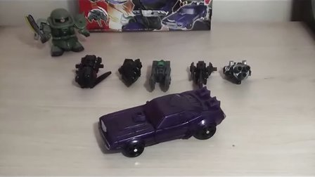 蓝天的TF玩具分享 25 领袖之证日版AM-08及目标战士