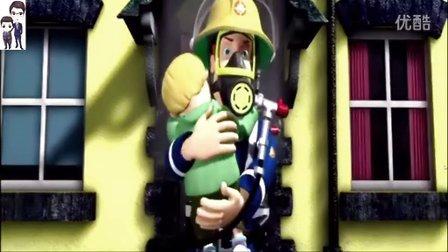 消防员山姆第1期:山崖救援★动画片游戏★小小救生队