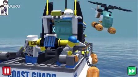 乐高城市系列第9期:海难救援队★动漫动画电影★积木玩具游戏